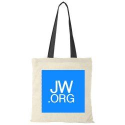 Tas met JW logo opdruk